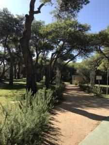 Parkanlage Robinson Club in Apulien