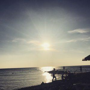 Sundowner im Robinson Club Apulia